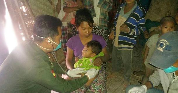 နာဂေဒသတြင္ တီဘီပိုးရွိသူမ်ား ထပ္ေတြ႕