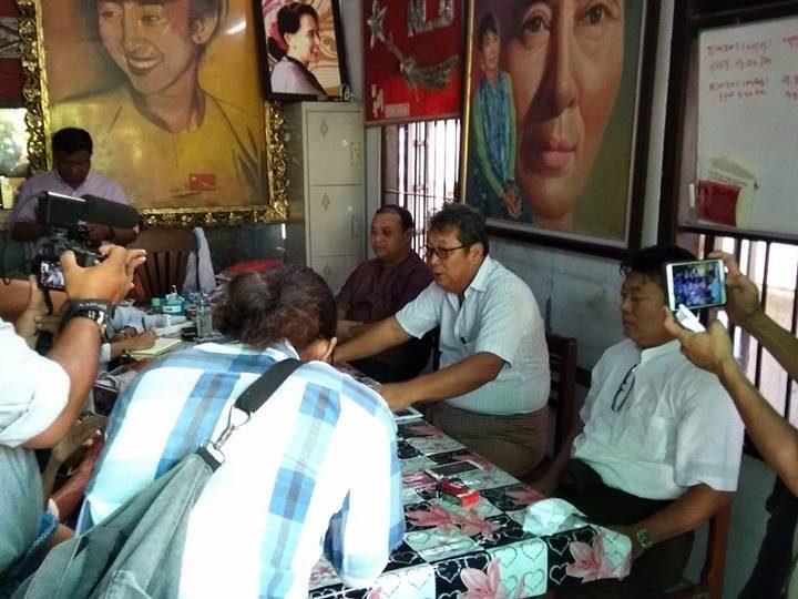 ဘာသာေပါင္းစံုဆုေတာင္းပြဲေတြ ကို NLD ဘာ့ေၾကာင့္လုပ္တာလဲ