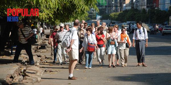 ျပည္ပ ခရီးသြား ၀င္ေရာက္မႈ ၃သန္းေက်ာ္ ရွိလာ
