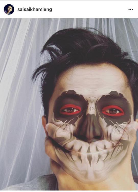 သရုပ္ေဆာင္ စိုင္းစိုင္းခမ္းလႈိင္ရဲ႕ Halloween ဖက္ရွင္