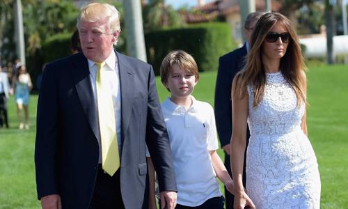 အေမရိကန္ ျပည္ေထာင္စုရဲ႕First Lady Melania Trump