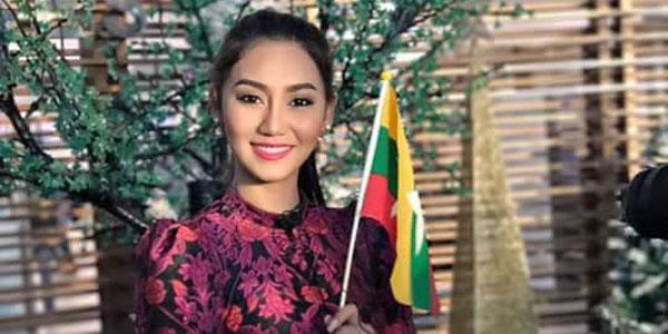 Miss Universe ျပိဳင္ပြဲေတြမွာ ျမန္မာ ဆိုတာ ကမၻာက အသိအမွတ္ျပဳေအာင္ ႀကိဳးစားမယ္ Miss  Universe Myanmar 2016 ထက္ထက္ထြန္း