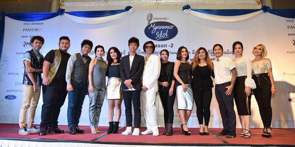 Myanmar Idol Season 2 ရဲ႕ေနာက္ဆံုး Top Ten Finalist ဆယ္ဦးထြက္ေပၚ