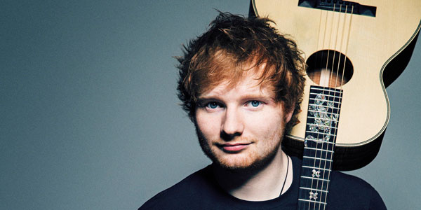 ၂ဝ၁၇ မွာ ေျမာက္အေမရိကမွာ လွည္႔လည္ေဖ်ာ္ေျဖမည္႔ Ed Sheeran