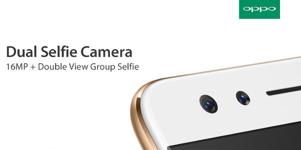 OPPO F3 စမတ္ဖုန္းသစ္တြင္ Double View Group Selfie Camera ကို အသံုးျပဳေပးထားမည္
