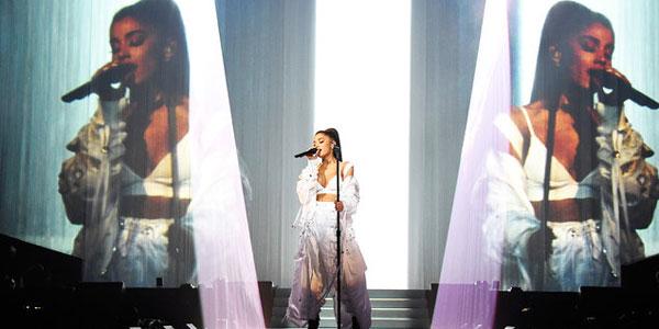ေဖ်ာ္ေျဖပြဲမွာ ေပါက္ကြဲမႈနဲ႔ ႀကဳံေတြ႕ ခဲ့ရတဲ့ Ariana Grande