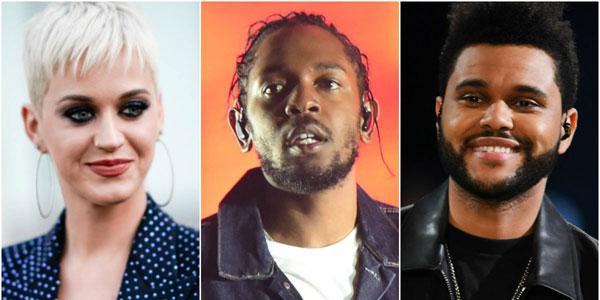 2017 MTV Video Music Awards ရဲ႕ ဆန္ခါတင္  စာရင္းထုတ္ျပန္