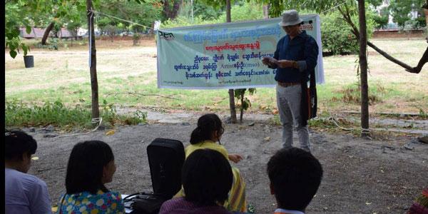 Pen Myanmar ၏ ရသအစုန္အဆန္ ေရးသူဖတ္သူ ေဆြးေႏြးပြဲကို မႏၲေလးတကၠသိုလ္တြင္ က်င္းပ