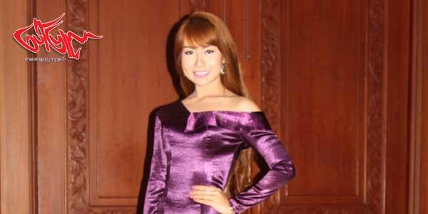 ကိုယ့္ႏိုင္ငံကို မ်က္ႏွာမငယ္ရေအာင္ တတ္စြမ္းသေလာက္ အစြမ္းကုန္ ႀကိဳးစားပါ့မယ္ဆိုတဲ့ Miss Grand Myanmar 2017 အလွမယ္ ေအးခ်မ္းမိုး