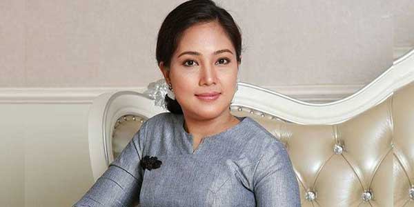 Organization အေနနဲ႕Miss Grand Myanmar 2017 အလွမယ္ ေအးခ်မ္းမိုး ဘက္ကရပ္တည္ၿပီး    အေကာင္းဆံုးပံ့ ပိုးေပးသြားမွာပါ ေဒၚစိုးယုေဝ