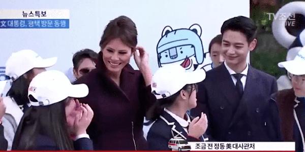 The First Lady နဲ႔ ယဥ္ေက်းမႈေတြ ဖလွယ္ခဲ့တဲ့ Minho