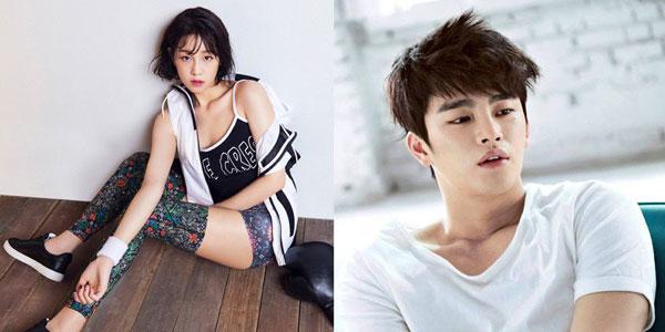 တြဲေနတာကုိ အတည္ျပဳလုိက္တဲ့ Seo In Guk နဲ႔ Park Bo Ram