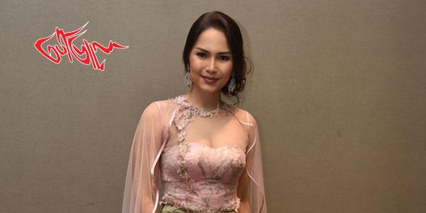 Miss  Universe Yangon 2018 ၿပိဳင္ပြဲကို ဝင္ေရာက္ ယွဥ္ၿပိဳင္မယ့္ Miss  Myanmar International 2015  အလွမယ္ အမရာၿငိမ္း