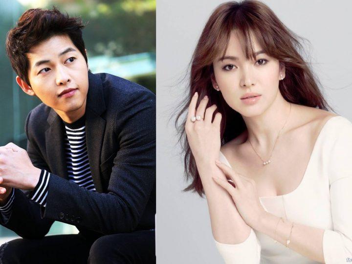 ပဲရစ္မွာက်င္းပတဲ့ Dior Show ကုိSong Joong Ki eJY Song Hye Kyo တက္ေရာက္ခဲ့ၾက