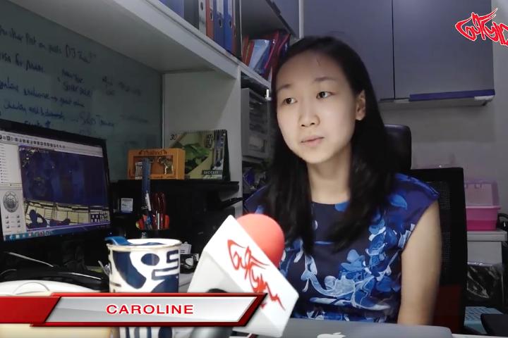 အသက္၂၄ႏွစ္အရြယ္ ပတ္ကားစိန္ေရႊရတနာဆုိင္ရဲ႕မ်ိဳးဆက္သစ္စီးပြားေရးလုပ္ငန္းရွင္ Caroline
