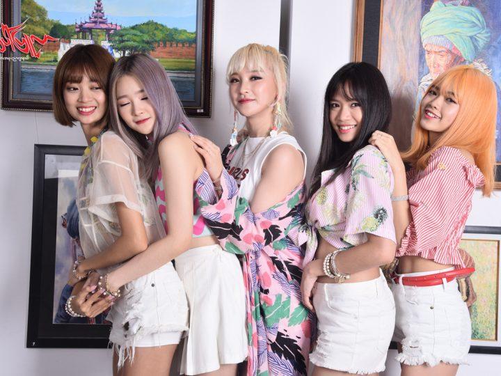 ျမန္မာျပည္က ပရိသတ္မ်ားနဲ႔ ေတြ႕ဆုံဦးမယ့္ K-Pop Girl-Band အဖြဲ႕ Rose Quartz