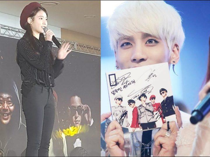 စင္ကာပူ ရွိူးပြဲမွာ Jonghyun အတြက္ အမွတ္တရ သီခ်င္းသီဆိုခဲ့တဲ့ IU