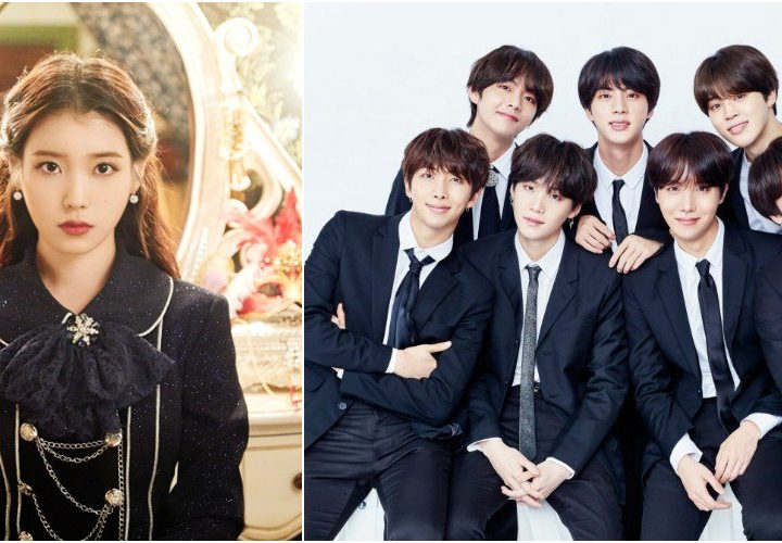 2018 Persons of the Year Awards ကုိ ရရွိသြားတဲ့ BTS နဲ႔ IU
