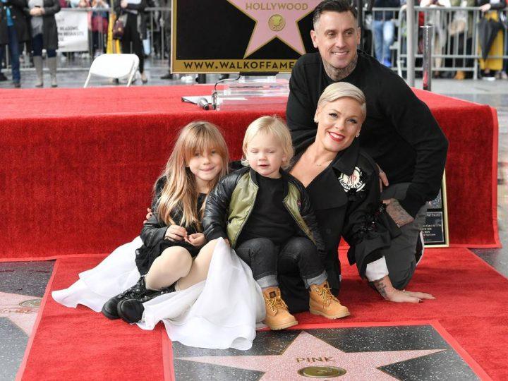အဆိုေတာ္ ပင့္ခ္ Hollywood Walk of Fame မွာ မွတ္တမ္းတင္ ေဖာ္ျပခံရ
