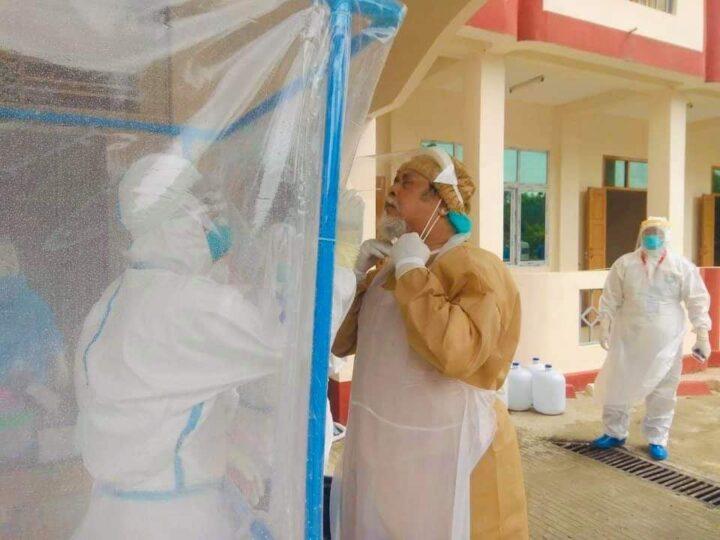 နာရေးကူညီမှုအသင်းဥက္ကဌ ဦးကျော်သူ ကိုဗစ်ရောဂါ ကူးစက်ခံရ