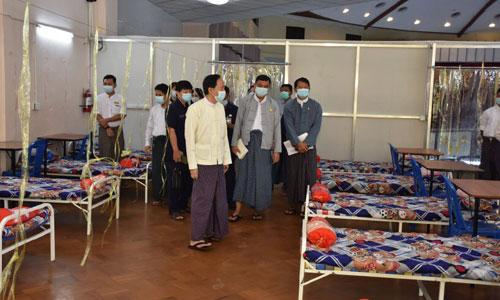 ရန်ကုန်မြို့တွင် ကိုဗစ်ကုသရေး စင်တာများ ပြန်လည်ဖွင့်လှစ်
