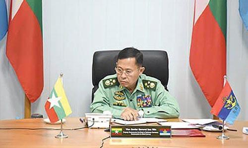 ဒုတိယဗိုလ်ချုပ်မှူးကြီး စိုးဝင်း နိုင်ငံ့တာဝန်များ ထမ်းဆောင်နေလျှက်ရှိကြောင်း နစက ထုတ်ပြန်