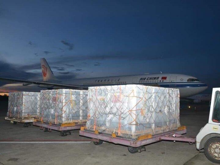 တရုတ်တပ်မတော်က မြန်မာတပ်မတော်ကို ကိုဗစ်ကာကွယ်ဆေး များပေးအပ်