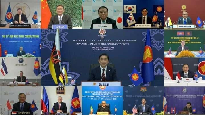 ၂၀ကြိမ်မြောက် အာဆီယံ-တရုတ် ဝန်ကြီးများအစည်းအဝေး ကျင်းပ