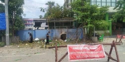မန္တလေးတွင်ပေါက်ကွဲမှုဖြစ် လုံခြုံရေးအဖွဲ့ဝင်အပါအဝင် ၂ဦးသေဆုံး