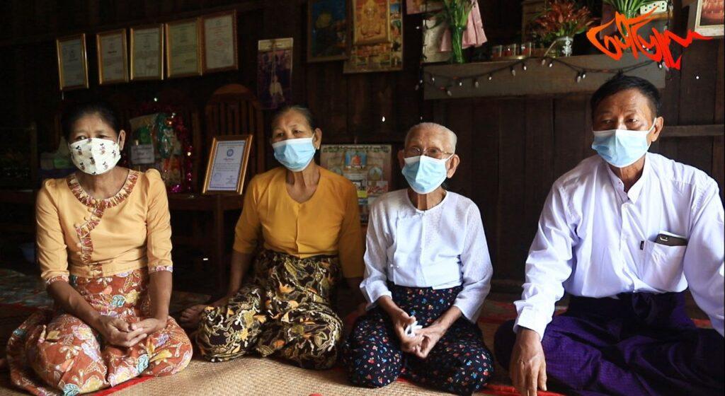အသက်၁၀၀ကျော်ပေမယ့်အမေကအခုထိကျန်းမာရေးကောင်းတုန်းပါ။